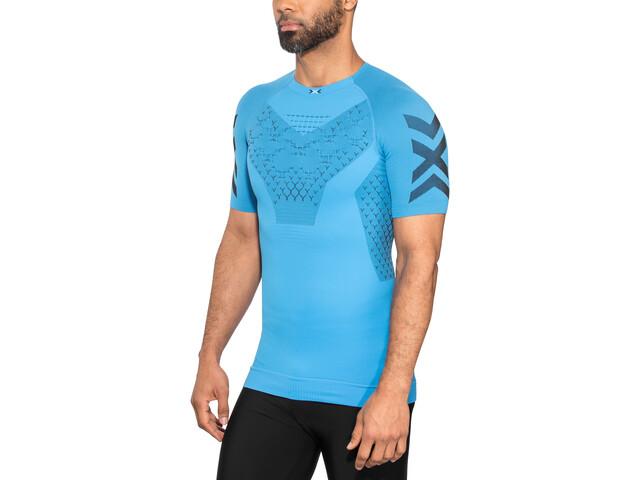 X-Bionic Twyce G2 Camiseta running manga corta Hombre, twyce blue/opal black